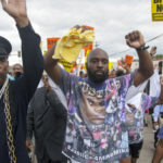 Mike Brown Father Marches - Stranger Fruit Documentary